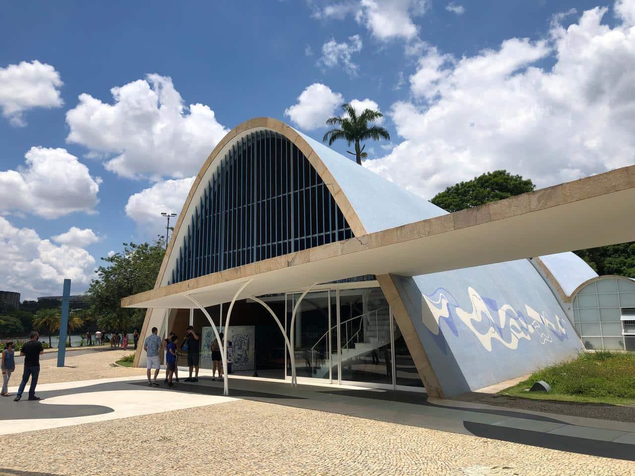 O maravilhoso conjunto arquitetônico da Pampulha - Igreja de São Francisco de Assis