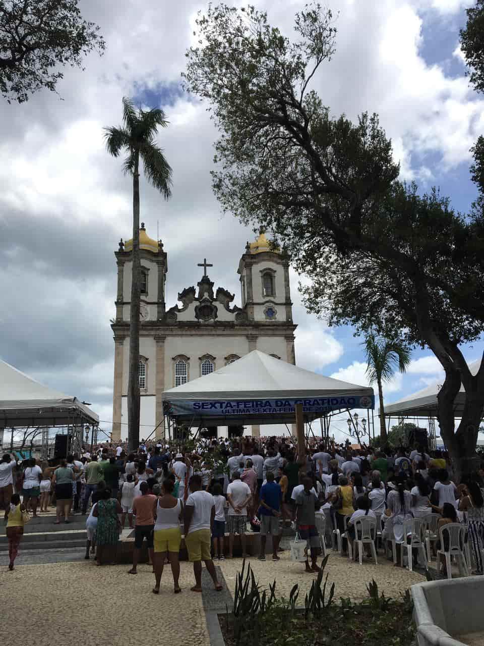 Igreja do Bonfim e a sua tradicional lavagem
