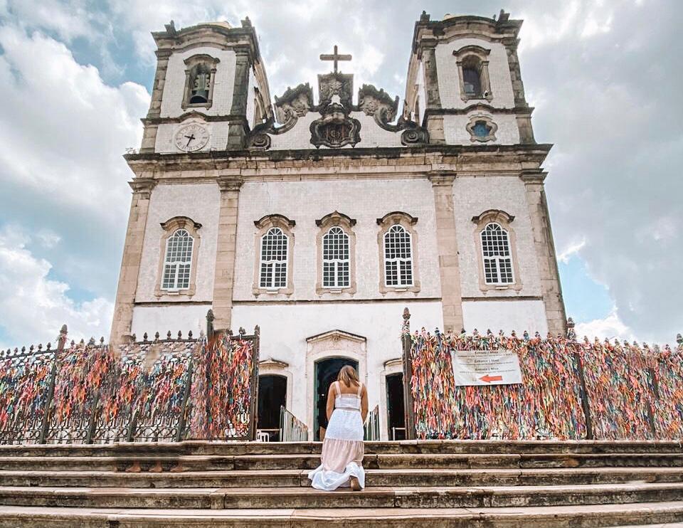 Igreja do Bonfim, local de fé em Salvador