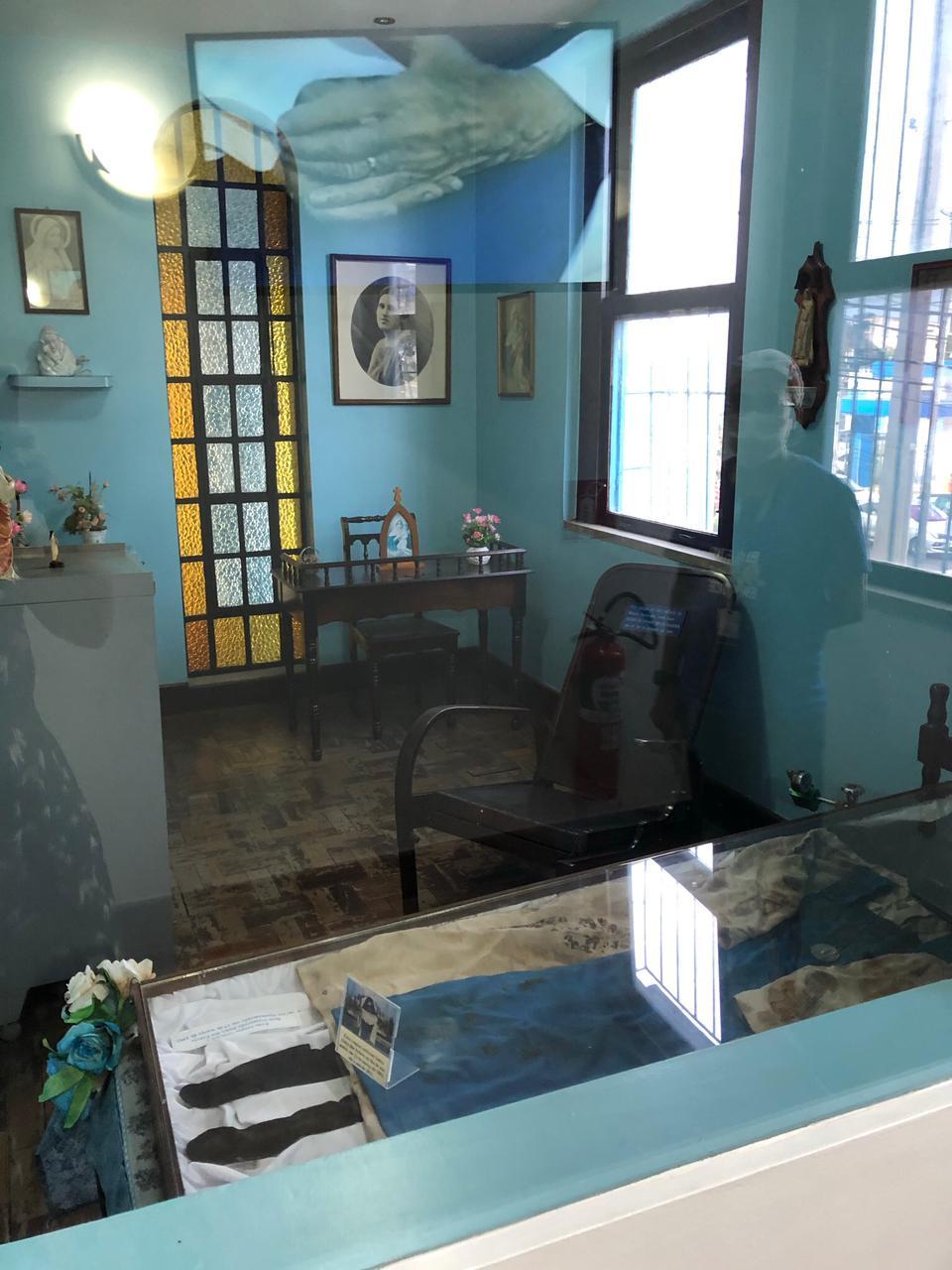 O Memorial Irmã Dulce mostra sua história e um rico acervo de relíquias e objetos pessoais