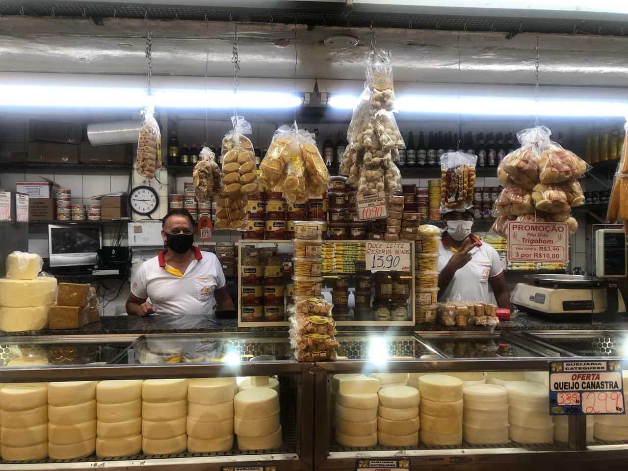 Atração imperdível em BH - Mercado Central de BH