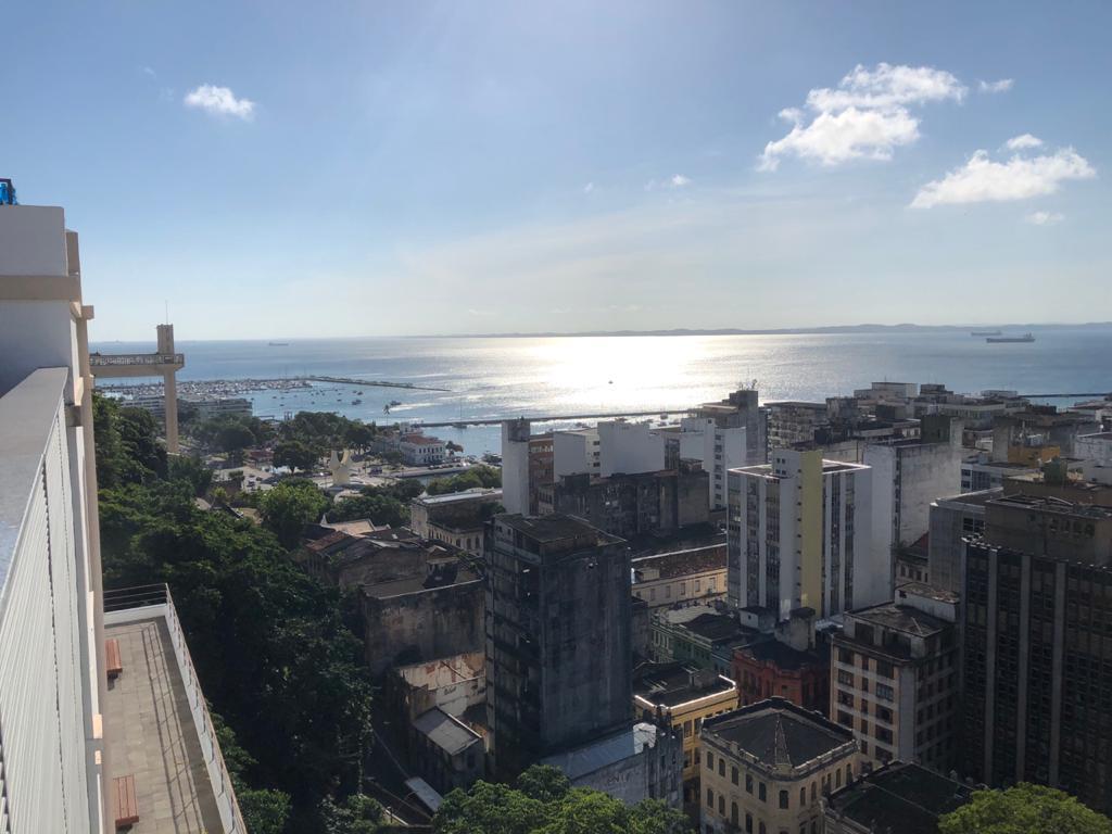 Casa do Carnaval em Salvador Bahia é Museu da folia baiana - A vista incrível a partir do terraço
