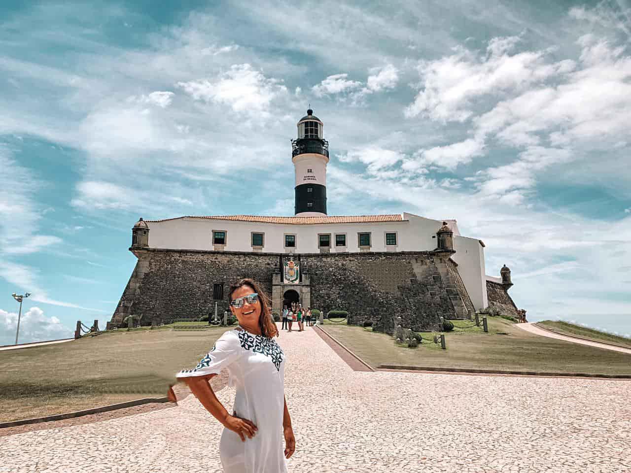 Farol da Barra e Museu Náutico em Salvador