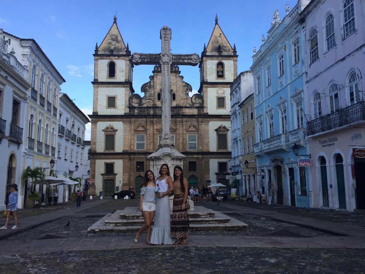 Igreja e Convento São Francisco no Pelourinho em Salvador - Joias da Bahia