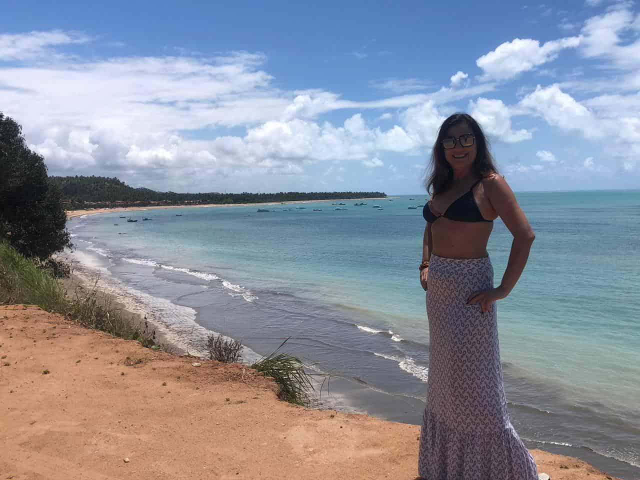 Praia de Japaratinga e Mirante em Maragogi Al