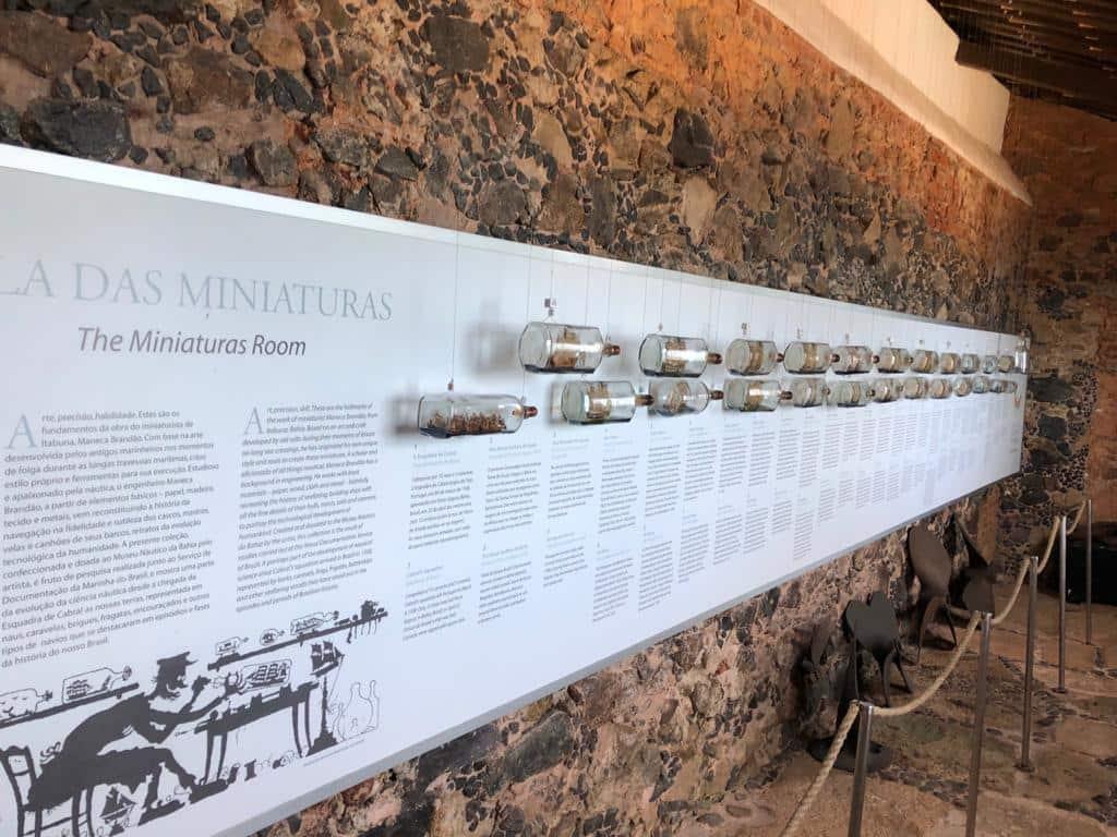 O Museu Náutico da Bahia fica localizado no Forte Santo Antônio da Barra em Salvador Ba