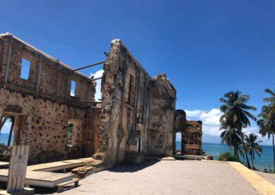 As ruínas da Igreja de São Bento ficam localizadas na Praia de São Bento em Maragogi Al