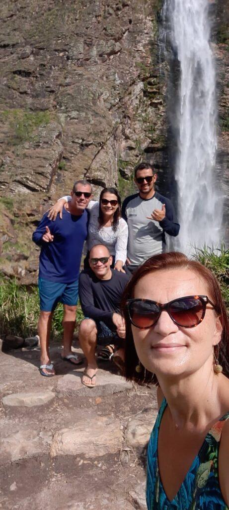 Cachoeira Casta D'anta no Parque Nacional da Serra da Canastra