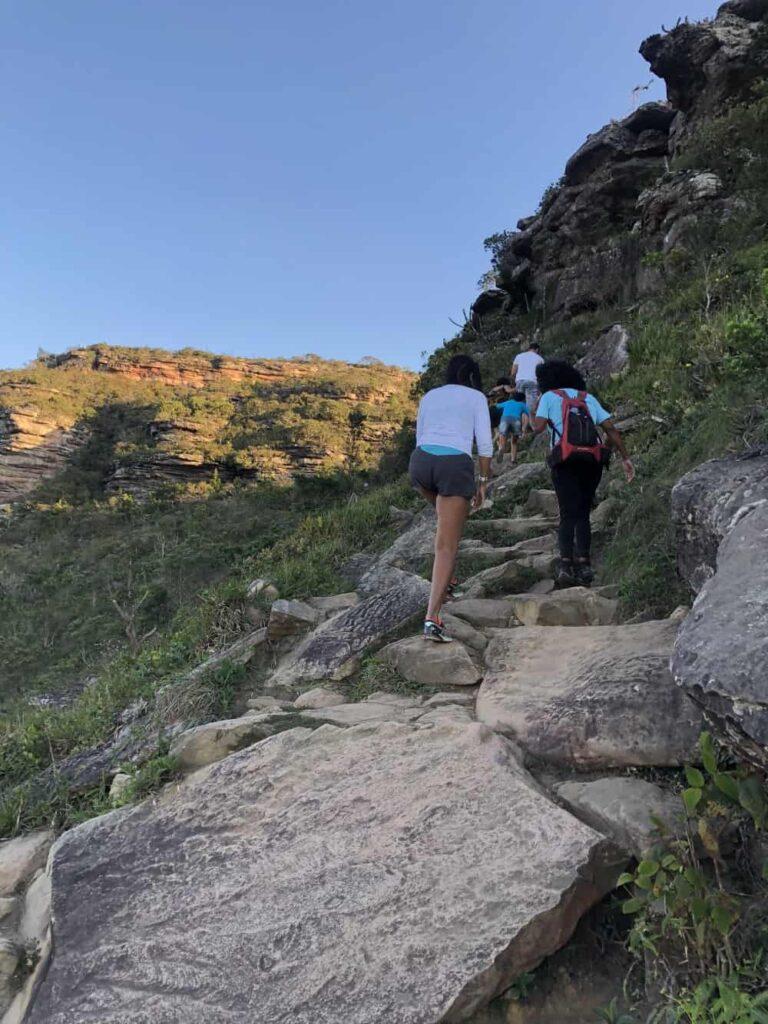 O Morro do Pai Inácio é destaque na Chapada Diamantina. Com seus 1150 metros de altitude e imponência, chama atenção e impressiona