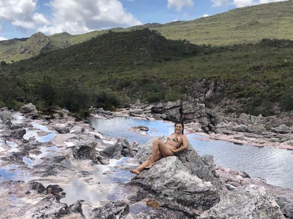 Cachoeira da Matinha, atração de Mucugê Ba