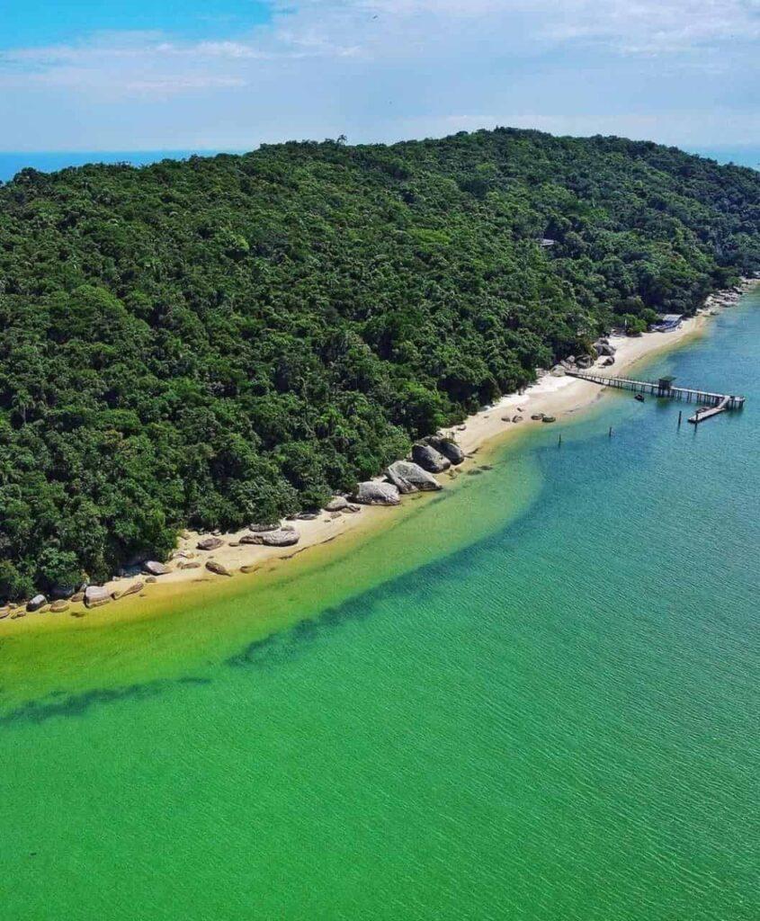 Porto Belo SC e sua belas praias na Costa Esmeralda -Ilha de Porto Belo