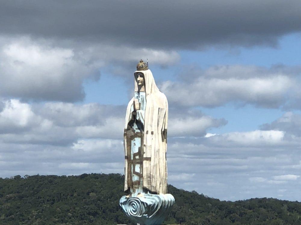 Guaramiranga- Ce, Imagem Nossa Senhora de Fatima no Mirante Linha da Serra
