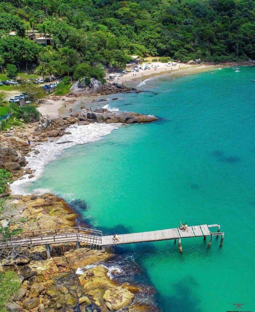 Porto Belo SC e sua belas praias na Costa Esmeralda - Praia do Estaleiro