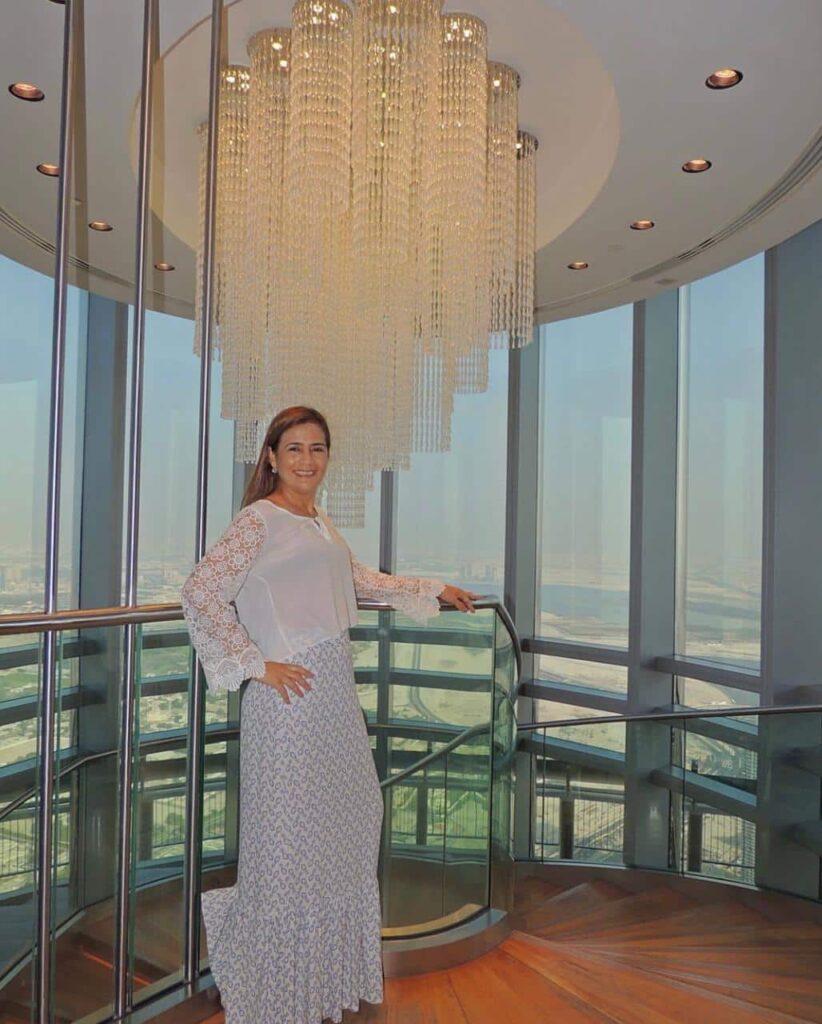 Burj Khalifa -o prédio mais alto de Dubai e do mundo