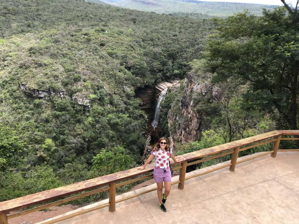 A Cachoeira do Mosquito é uma das atrações mais famosas da Chapada Diamantina