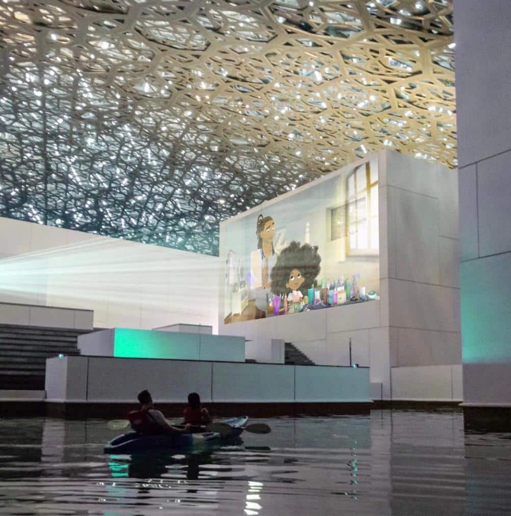 O que fazer na capital dos Emirados Árabes - Museu do Louvre